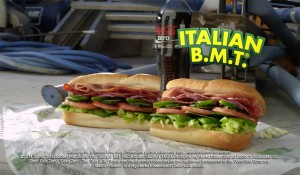 Subway // $7 Footlong campaign